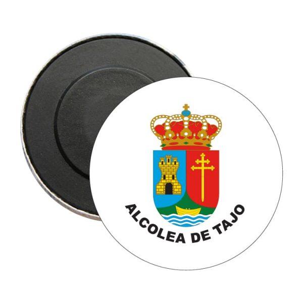 iman redondo escudo heraldico alcolea de tajo