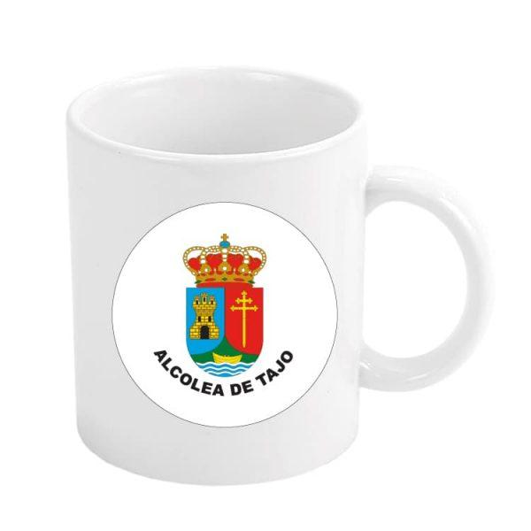 taza escudo heraldico alcolea de tajo