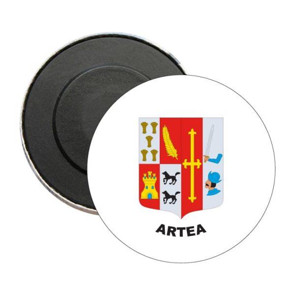 iman redondo escudo heraldico artea