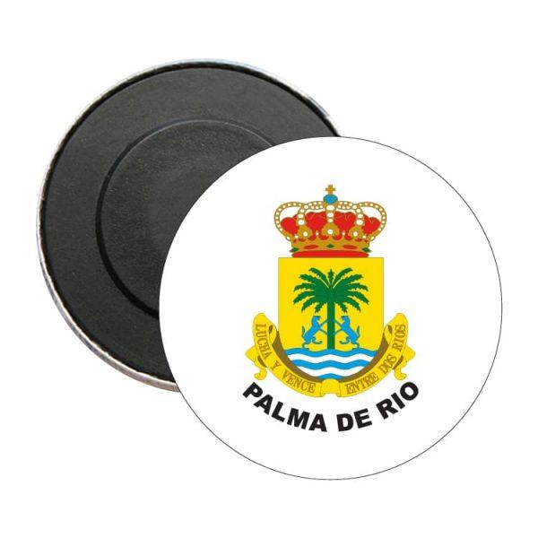 iman redondo escudo heraldico palma de rio