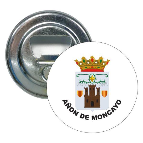 abridor redondo escudo heraldico anon de moncayo