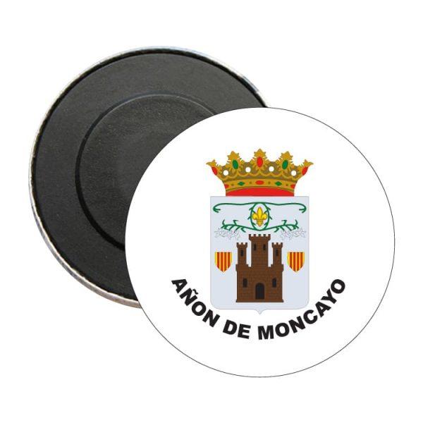 iman redondo escudo heraldico anon de moncayo
