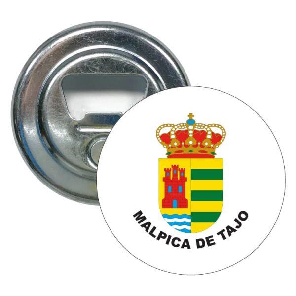 abridor redondo escudo heraldico malpica de tajo
