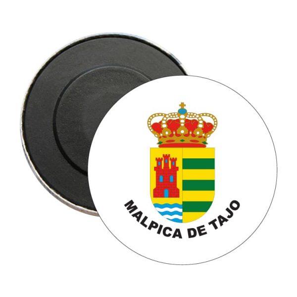 iman redondo escudo heraldico malpica de tajo