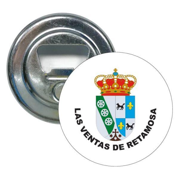 abridor redondo escudo heraldico las ventas de retamosa