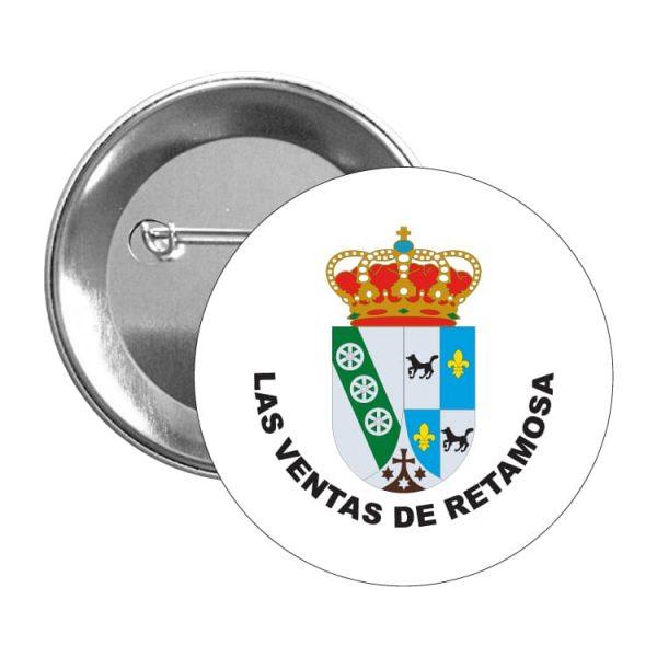 chapa escudo heraldico las ventas de retamosa