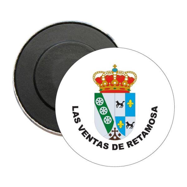 iman redondo escudo heraldico las ventas de retamosa