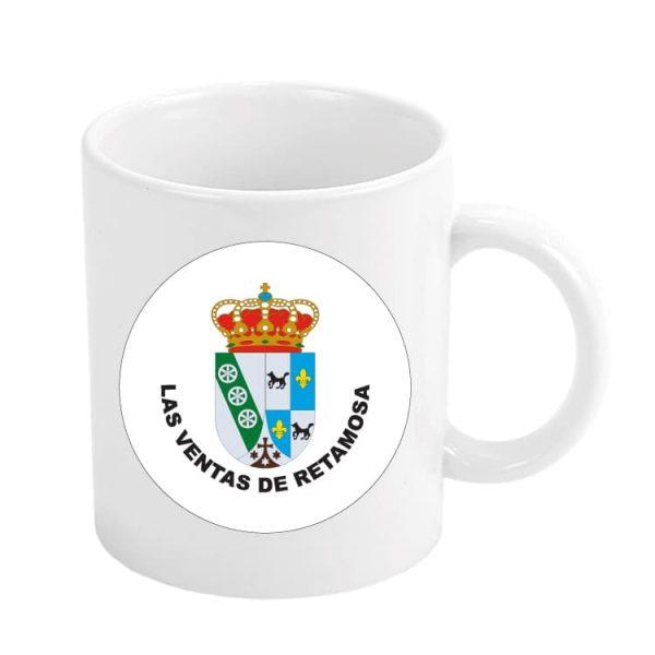 taza escudo heraldico las ventas de retamosa