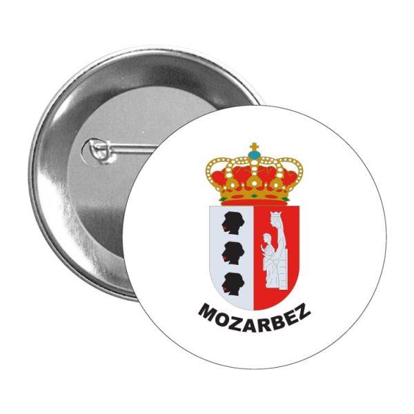 991 chapa escudo heraldico mozarbez