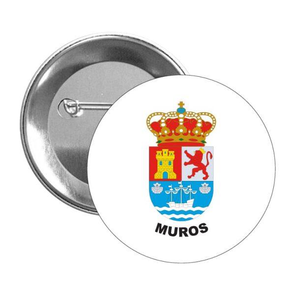 chapa escudo heraldico muros