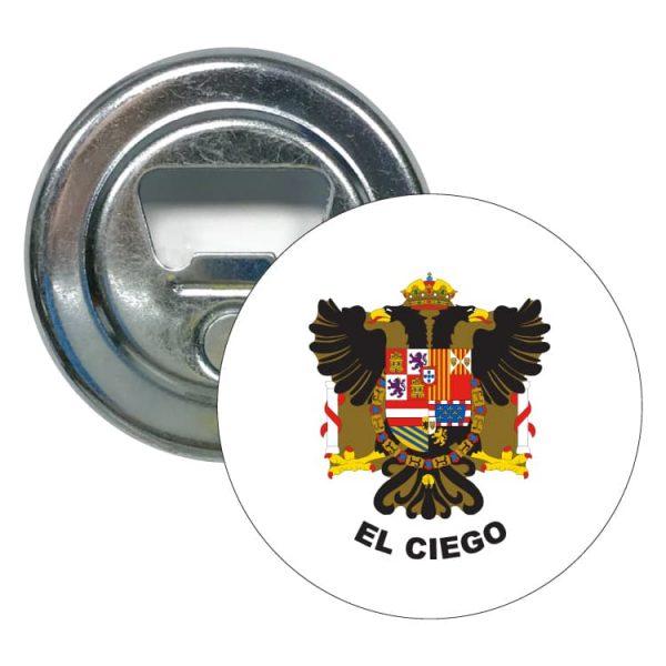 abridor redondo escudo heraldico el ciego