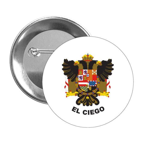 chapa escudo heraldico el ciego