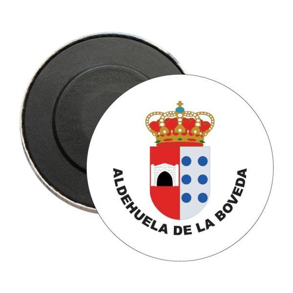 iman redondo escudo heraldico aldehuela de la boveda