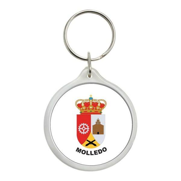 1126 llavero redondo escudo heraldico molledo