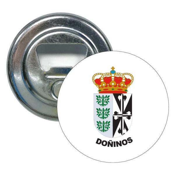 1420 abridor redondo escudo heraldico doñinos