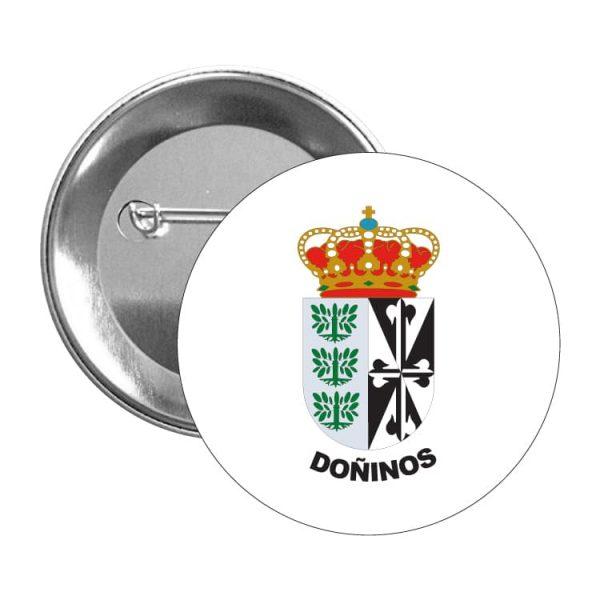 1420 chapa escudo heraldico doñinos