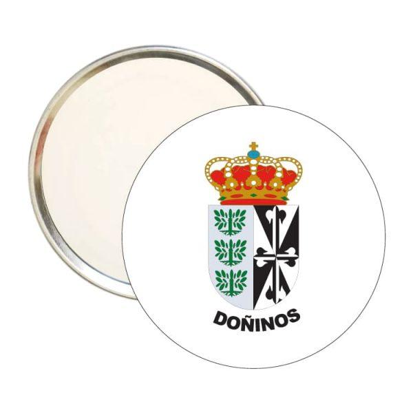 1420 espejo redondo escudo heraldico doñinos