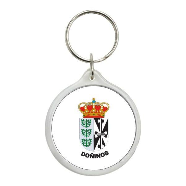 1420 llavero redondo escudo heraldico doñinos