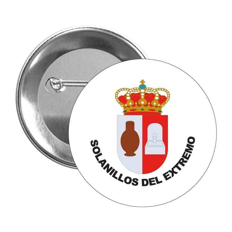 1426 chapa escudo heraldico solanillos del extremo