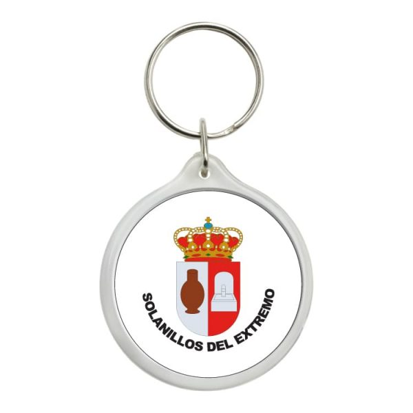 1426 llavero redondo escudo heraldico solanillos del extremo