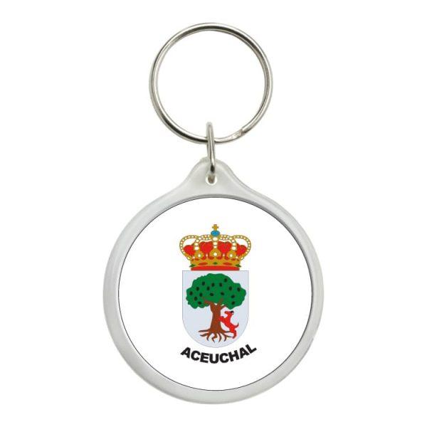 1430 llavero redondo escudo heraldico aceuchal