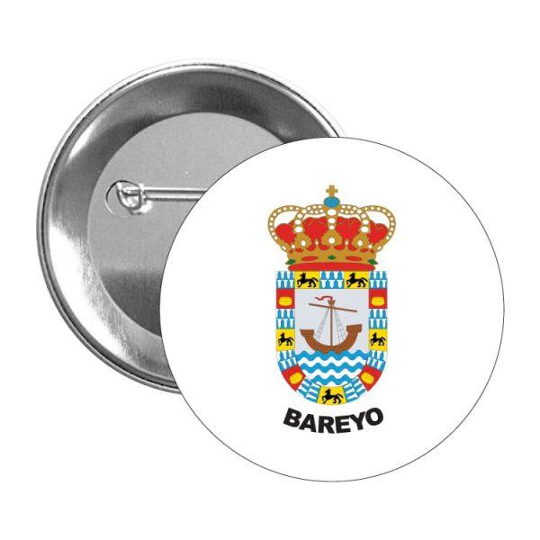 chapa escudo heraldico bareyo