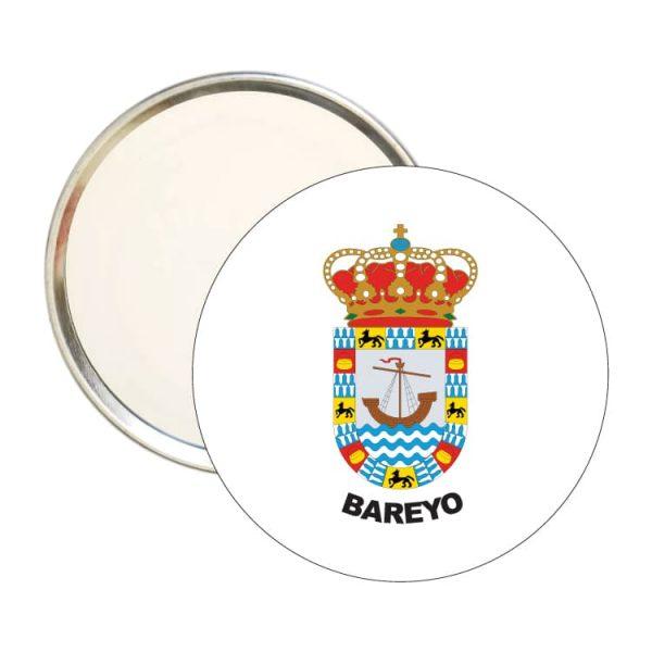 espejo redondo escudo heraldico bareyo