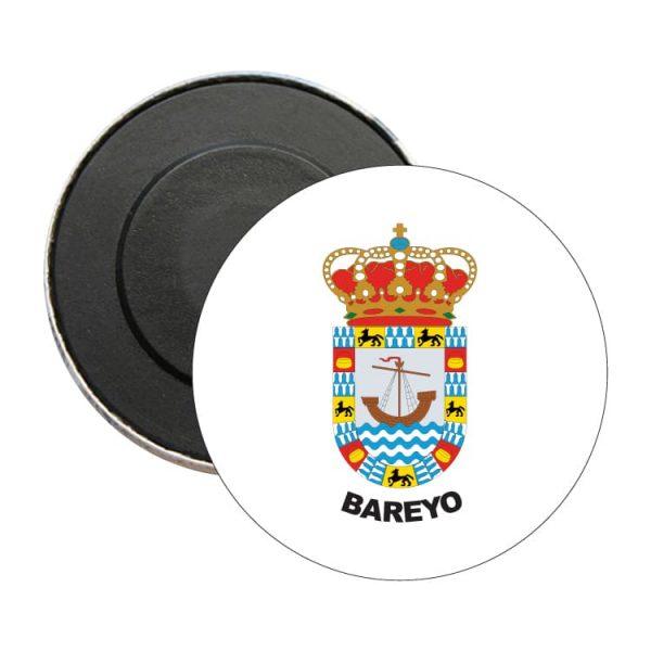 iman redondo escudo heraldico bareyo