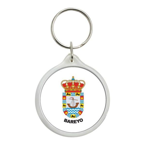 llavero redondo escudo heraldico bareyo