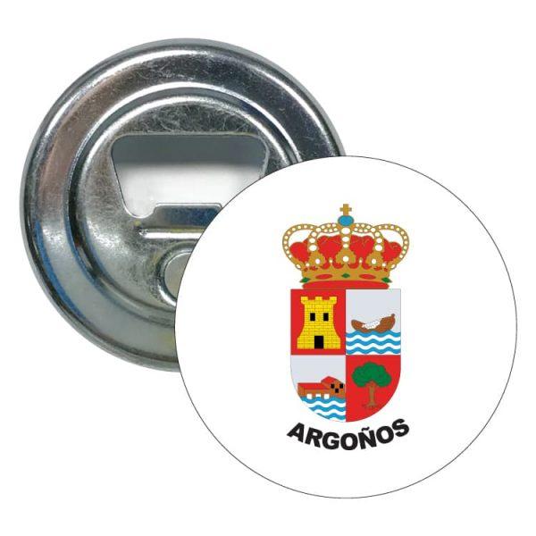 abridor redondo escudo heraldico argoños
