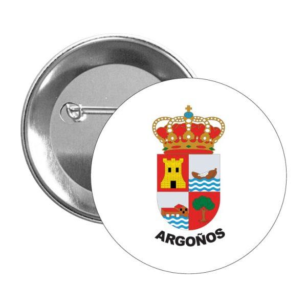 chapa escudo heraldico argoños