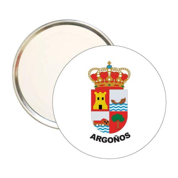 espejo redondo escudo heraldico argoños