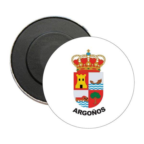 iman redondo escudo heraldico argoños