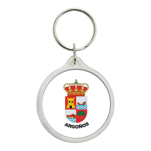 1434 llavero redondo escudo heraldico argoños