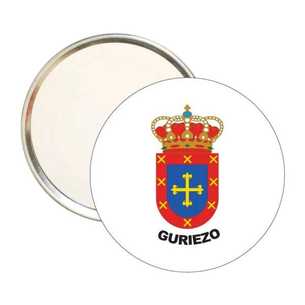 1437 espejo redondo escudo heraldico guriezo