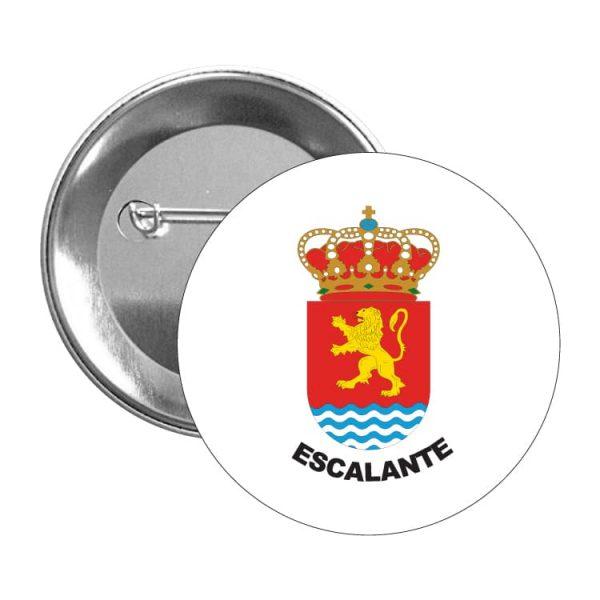 1439 chapa escudo heraldico escalante