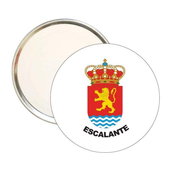 1439 espejo redondo escudo heraldico escalante