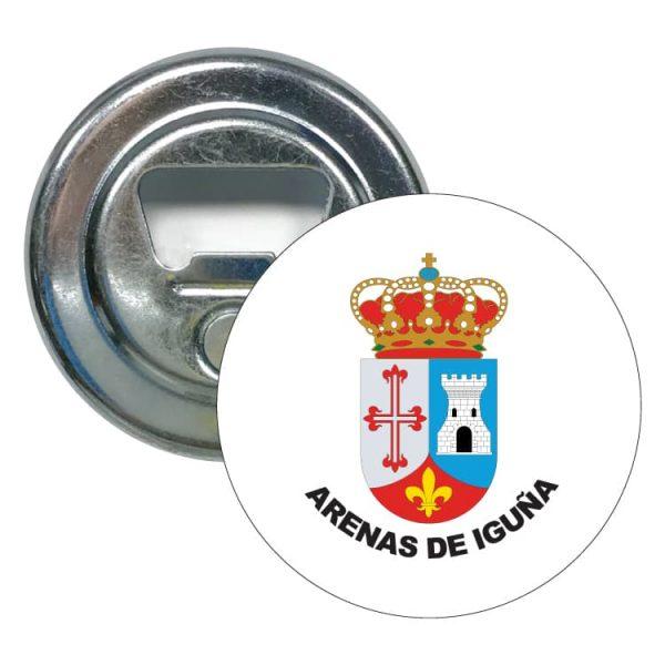 1440 abridor redondo escudo heraldico arenas de iguña