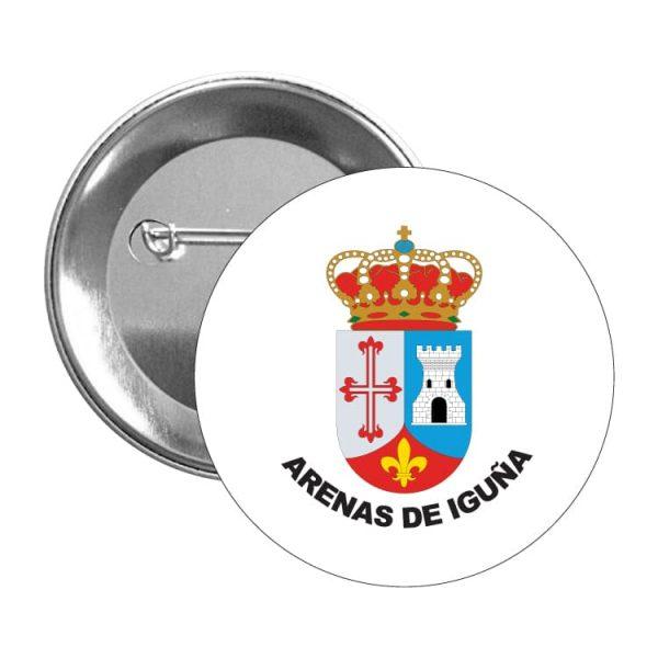 1440 chapa escudo heraldico arenas de iguña