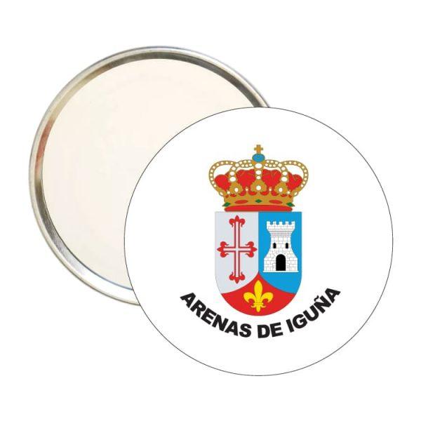 1440 espejo redondo escudo heraldico arenas de iguña