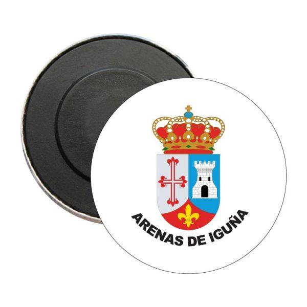 1440 iman redondo escudo heraldico arenas de iguña