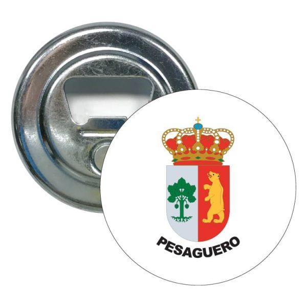 1443 abridor redondo escudo heraldico pesaguero