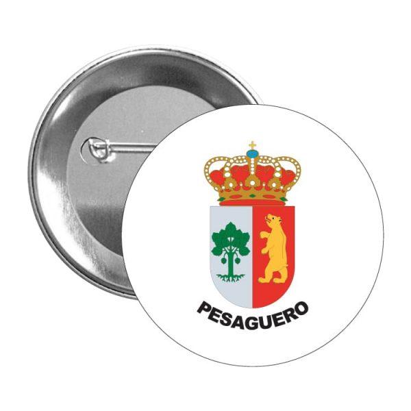 1443 chapa escudo heraldico pesaguero