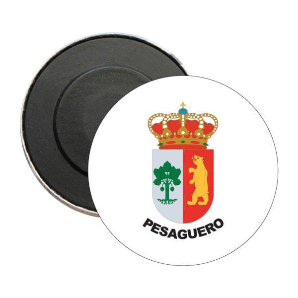 1443 iman redondo escudo heraldico pesaguero