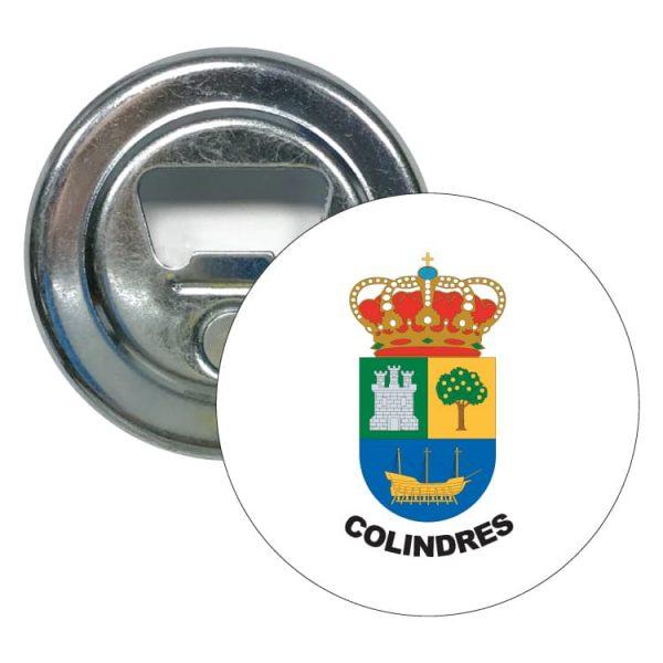 1444 abridor redondo escudo heraldico colindres