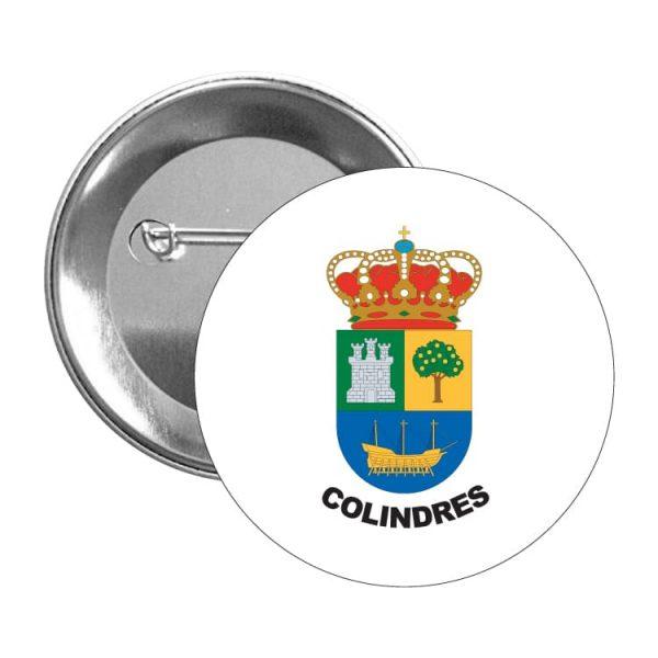 1444 chapa escudo heraldico colindres