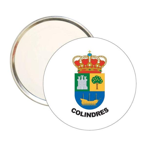 1444 espejo redondo escudo heraldico colindres