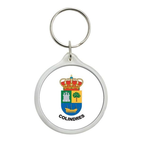 1444 llavero redondo escudo heraldico colindres