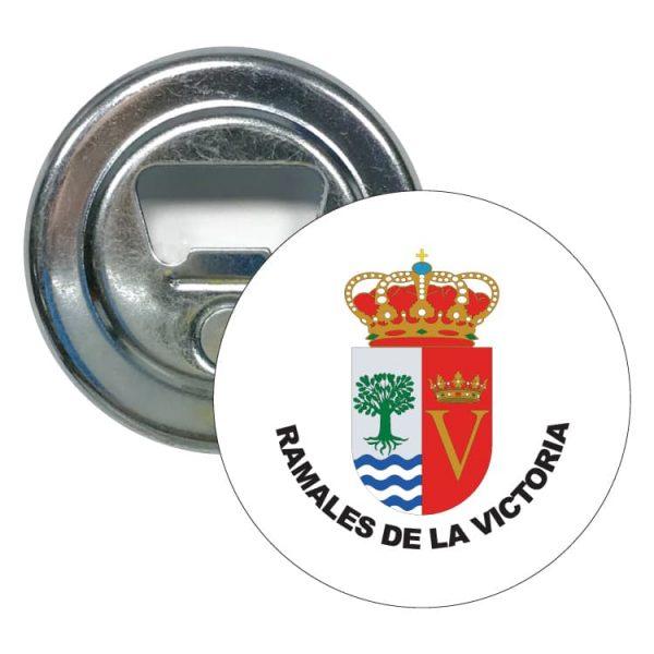 1451 abridor redondo escudo heraldico ramales de la victoria