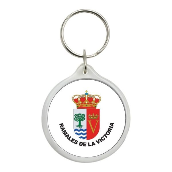 1451 llavero redondo escudo heraldico ramales de la victoria